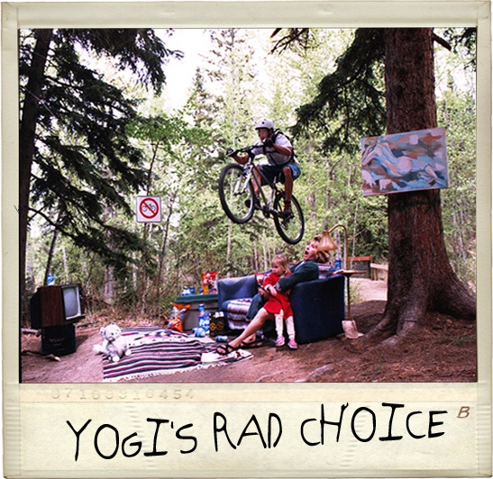Yogi's Rad Choice